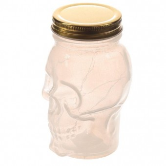 Puckator-Skull LED Light Jar