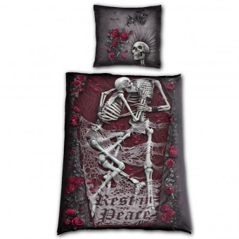 Spiral Direct-Rest In Peace Single Bedding Set