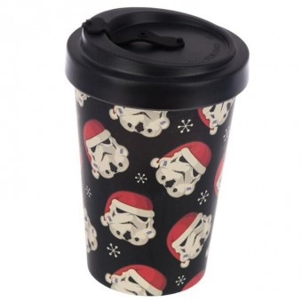 Phoenixx Rising-Stormtrooper Heads Christmas Travel Mug