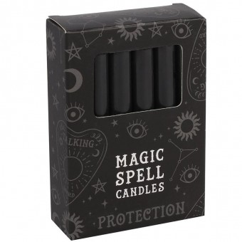 -Black Protection Spell Candles