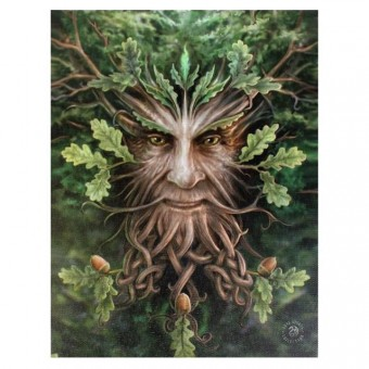 Anne Stokes-Oak King Canvas