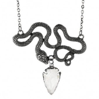 -Entwine Silver Necklace
