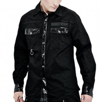 Trim Long Sleeved Shirt