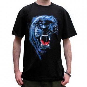 Cleo Gifts-Black Tiger T-shirt