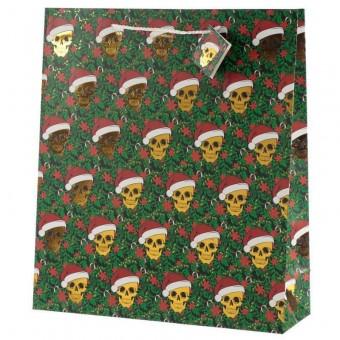 Phoenixx Rising-Christmas Skull XL Gift Bag