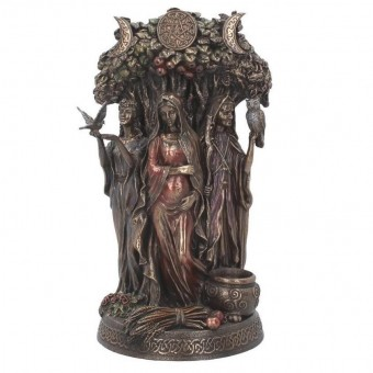 Nemesis Now-Maiden Mother Crone Bronze Figurine