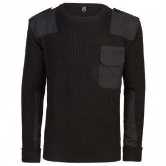 Brandit-Black BW Pullover