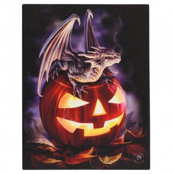 Anne Stokes-Trick or Treat Canvas