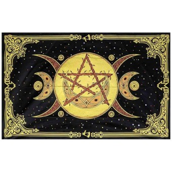 Phoenixx Rising-Triple Moon Single Bedspread