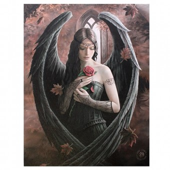 Anne Stokes-Angel Rose Canvas