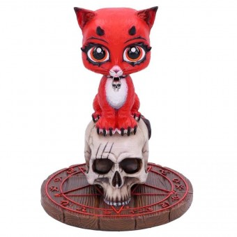 -Devil Kitty Figurine