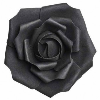 Small Black Rose