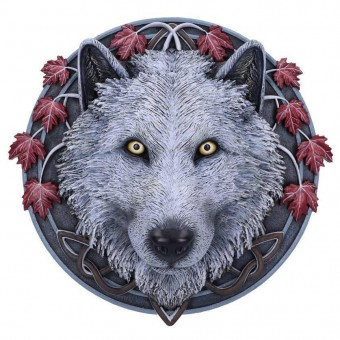 Lisa Parker-Guardian of the Fall Wall Plaque