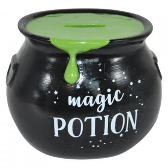 Phoenixx Rising-Green Magic Potion Money Bank